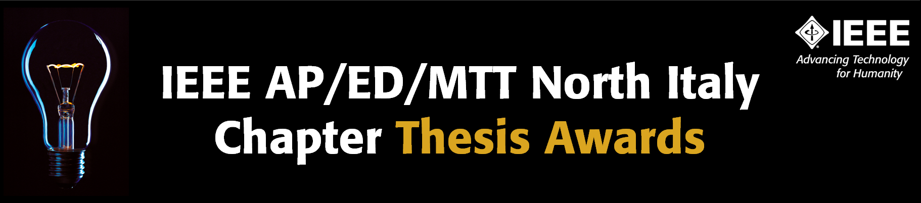 IEEE AP/ED/MTT North Italy Chapter Thesis Awards Announced